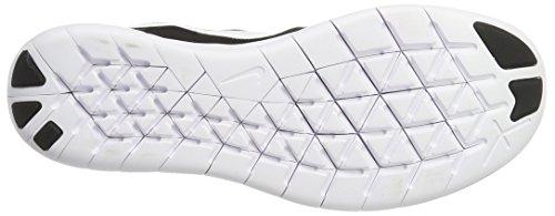 Nike Wmns Free Rn , Zapatillas Deportivas De Interior Mujer Multicolor (Black/White-Dark/Grey-Anthracite)