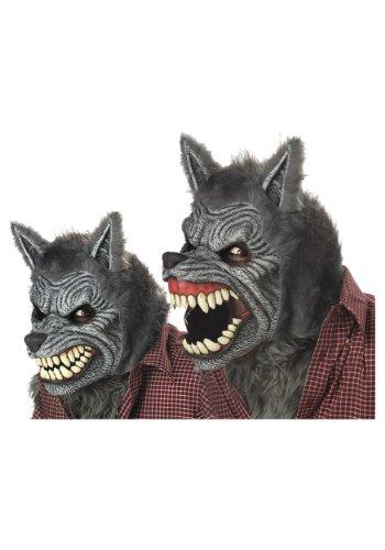 Costumes Werewolf (California Costumes Werewolf Mask,Assorted,One Size)