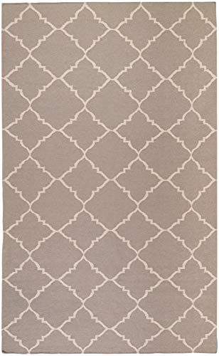 Hand Woven Transitional Camel - Surya Frontier 9' x 13' Hand Woven Wool Rug in Neutral