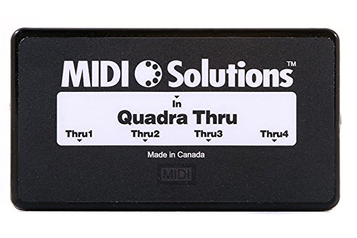 MIDI Solutions Quadra 4-Output MIDI Thru Box
