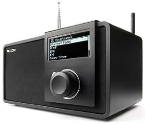 Noxon iRadio 460+ - Radio de internet, negro