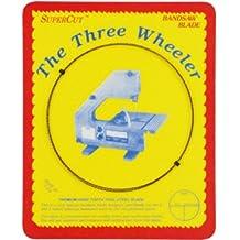 "SuperCut B82W38H6 Three Wheeler Bandsaw Blades, 82"" Long - 3/8"" Width; 6 Hook Tooth; 0.014"" Thickness"
