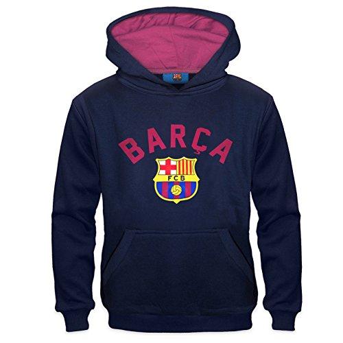 FC Barcelona Official Soccer Gift Boys Graphic Fleece Hoody 12-13 Yrs XLB