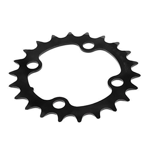 Prettyia Road Bike Single Chainring 104mm 4 Bolts Mountain Bicycle Chain Ring Show, 22T ()