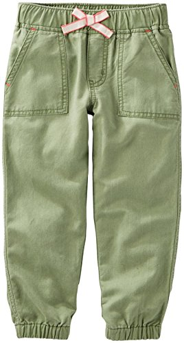 - OshKosh B'Gosh Girls' Woven Pant 22019110, Green, 2T Toddler