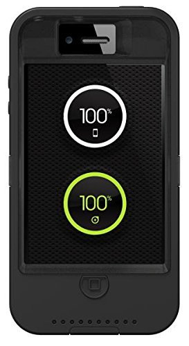 innovative design 71039 178ec OtterBox Defender Series Case for Apple iPhone 4 or 4S w/ ION Techonology  Built-In Battery - Graphite Black
