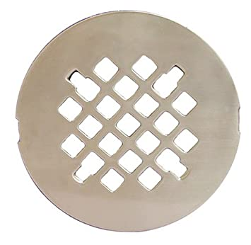 Plumbest D40 010 4 1/4u0026quot; Snap In Replacement Shower Drain Strainer
