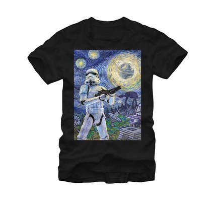 Star Wars- Stormy Night T-Shirt Size M