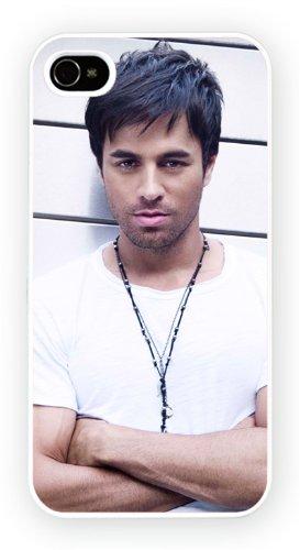Enrique Iglesias iTunes iPhone, iPhone 4 4S, Etui de téléphone mobile - encre brillant impression