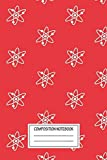 Notebook: The Big Bang Theory Atom Logo 2 (in White) , Journal for Writing, Size 6' x 9', 164 Pages