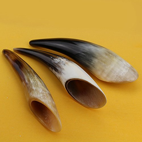 Ox Horn Gua Sha Scraping Massage Tool   100% Natural Genuine Buffalo Horn Shape Guasha Board for Acupuncture Trigger Point Therapy   Perfect Hand Made…