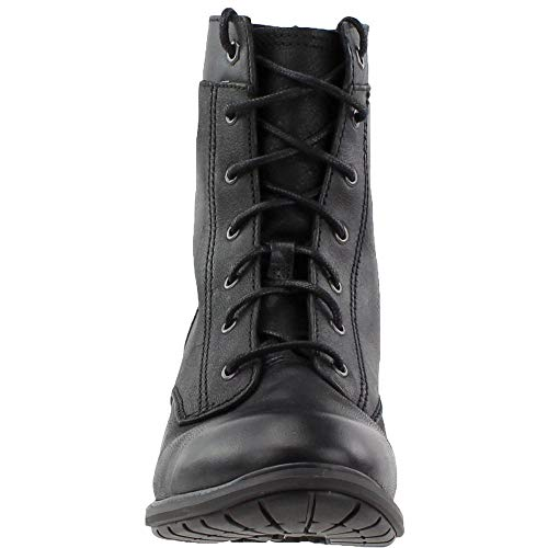 Boot B Full Us Grain Lace Black Sutherlin Bay Women's Timberland 8 Mid xUH44n