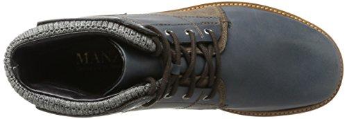 Stivali T Blue moro d Manz Militari Dark Uomo Perrugia 346 Multicolore 5nwYqwf0