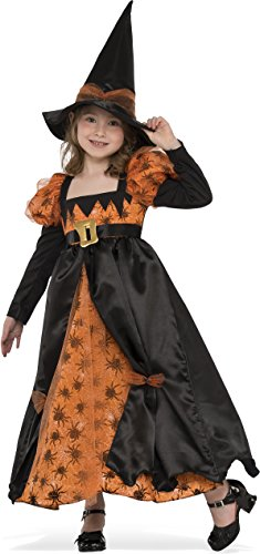 [Rubies Costume Child's Spider Witch Costume, Medium, Multicolor] (Red Spider Girl Costumes)