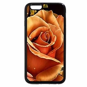 iPhone 6S / iPhone 6 Case (Black) Bright Rose