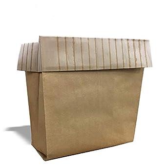 Compactor - Bolsas de papel con tapas rectangulares: Amazon ...