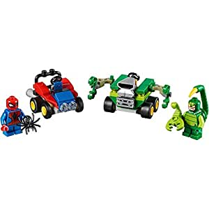 Marvel Super Heroes Mighty Micros: Spider-Man VS. Scorpion 76071- 79 PCS - By LEGO