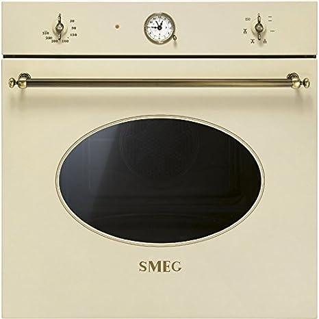 Smeg SF800PO - Horno (Horno eléctrico, 72 L, 72 L, 0-250 °C, Crema ...