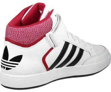 adidas Varial Mid, Zapatillas de Skateboarding para Hombre blanco