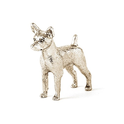 DOG ARTS JP Miniature Pinscher Made in UK Artistic Style Dog Figurine Collection