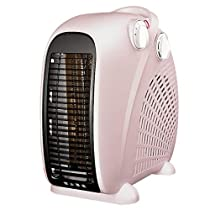 JAD@ Small Mini Heater Electric Heater Household Office Energy Saving Electric Heating Fan Efficient Heating Vertical Bedroom Dual-Use Overheat Protection
