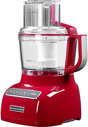 KitchenAid 5KFP0925 - Robot de cocina (Rojo, 3,2 kg, 27,9 cm, 25,4 ...