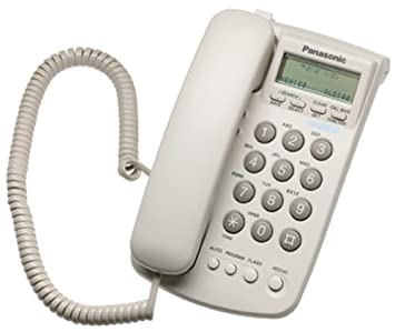 Panasonic KX TSC7W Corded Phone With Caller ID