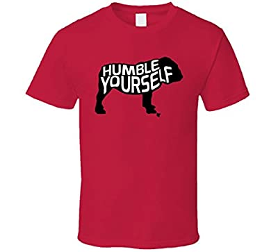 FanTstore Georgia Bulldogs Rose Bowl Baker Mayfield Humble Yourself Funny T Shirt