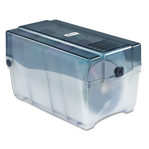 Acrylic Cd Holder - Innovera 39502 CD/DVD Storage Case, Holds 150 Disks