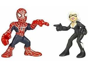 Spider-Man Super Hero Squad Spider-Man vs. Black Cat