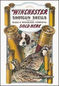 (Tin Signs Winchester Dog & Quail)