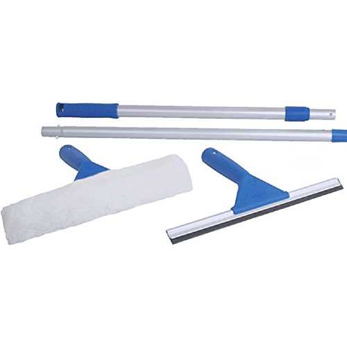 6' Wash (Uniware Window Cleaning Kit - Squeegee / Washer + 6' Pole)