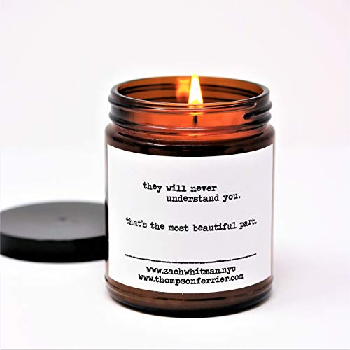 Thompson Ferrier Poetry Scented Candles (Understand) - Palo Santo