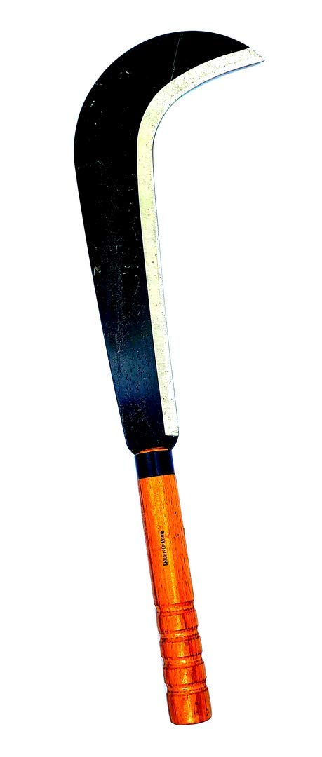 Knights Of Armur Billhook Sickle Machete Knife 12'' Steel Blade by Knights Of Armur