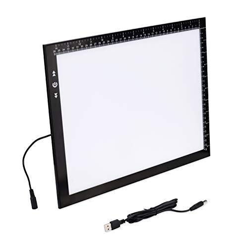 USB A4 Light Box Light Pad with Free Carry/Storage Bag Touch Dimmer 4W Supper Bright Led 2 Years Warranty