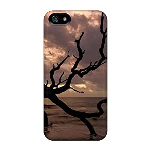 Sanp On Case Cover Protector For Iphone 5/5s (tree Shore)