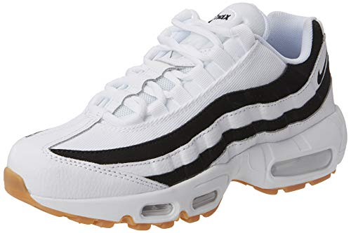 Nike Sneaker black white Max 95 gum Brown Light Donna 001 Air Multicolore SAWxrqwHSB