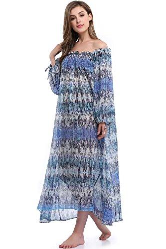 floaty sleeve chiffon floral dress - 8