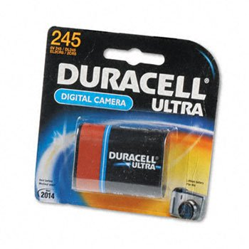 Duracell Photo Battery 6 V Model No. 245 Carded