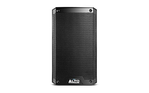 Alto Professional TS308 – 2000-Watt 8-Inch 2-Way Powered Loudspeaker with On-board Contour Controls, Performance-Driven Inputs / Outputs, Pole or Wedge Positioning and Integrated 2-Channel Mixer