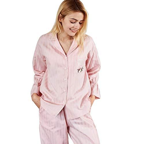 Para Sleepwear color Rosa Decoloración Mujeres Tamaño Home Hogar Cm Y Deformación 170 Sin Ropa El raBrTqE