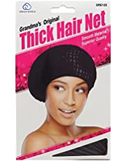 Dream Grandmas Thick Hair Net (12 Pieces)