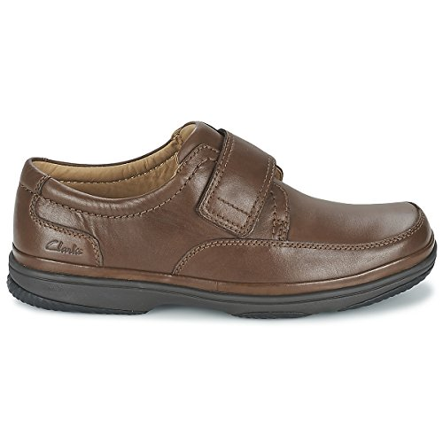 Clarks Swift Turn - Botas de cuero para hombre negro negro One Size Fits All Marrón