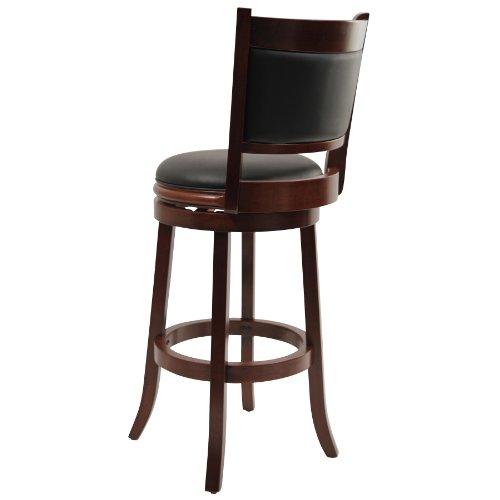 Boraam 49829 Augusta Bar Height Swivel Stool 29 Inch