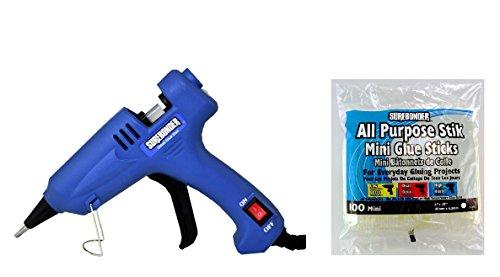 Surebonder H-195 Mini Detailed Glue Gun + 100 All Purpose Stik Mini Glue Sticks 4