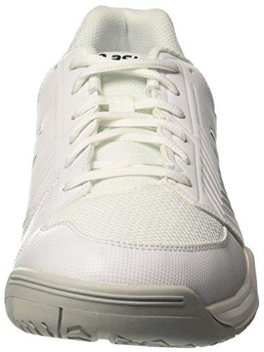 para Silver Tenis Zapatillas de Asics Blanco E707y0193 White 0193 Hombre aPqpWUw