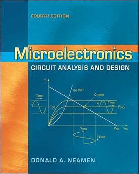 Microelectronics Circuit Analysis And Design Neamen Donald 9780073380643 Amazon Com Books