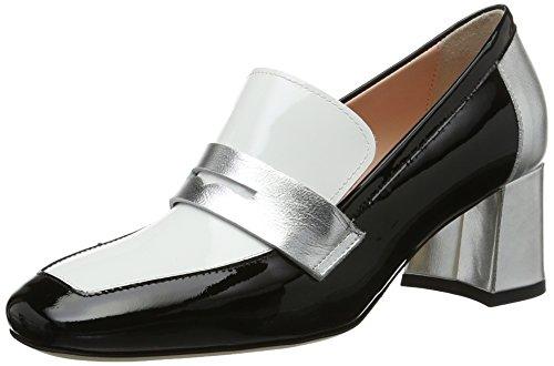 MARC CAIN GB SD.10 L35, Escarpins Femme Noir (Black And White)