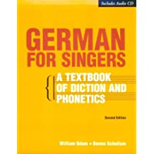 German for Singers (with CD-ROM)