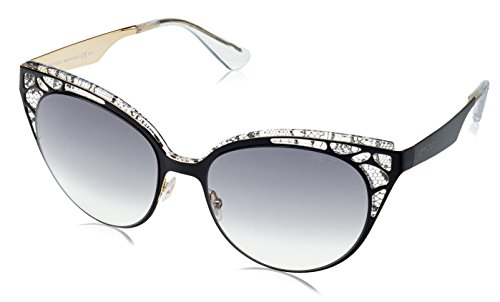 Jimmy Choo Women's Estelle Sunglasses, Shiny Black/Grey Gradient, One - Jimmy Women Sunglasses Choo